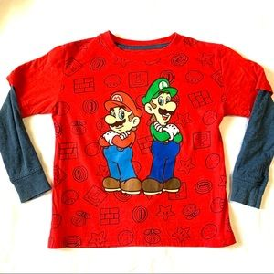Boys SUPER MARIO T-SHIRT